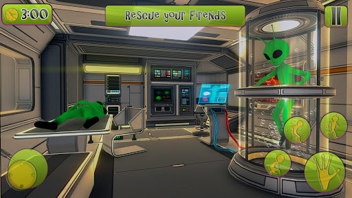 Green Alien Prison Escape Game 2021 2.0 pic 2