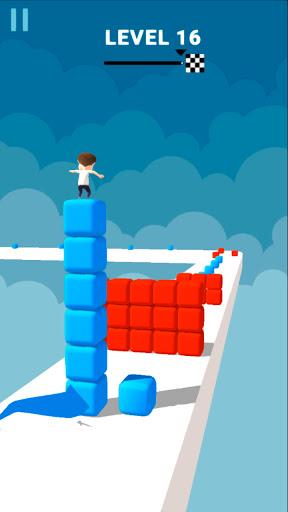 Cube Stacker Surfer 3D - Run Free Cube Jumper Game  screenshots 22