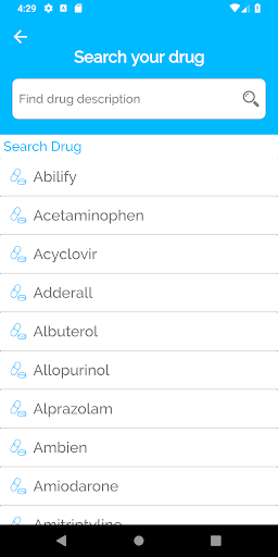 Drugs and Disease Dictionary 1.0 Screenshots 2