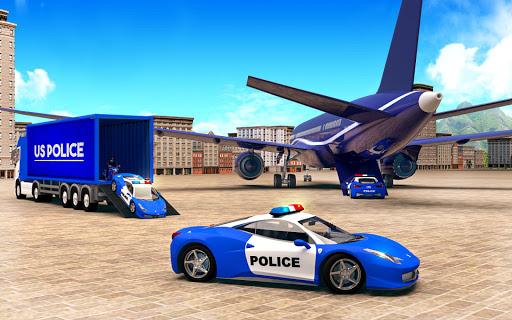 US Police Car Transport Simulator  screenshots 1