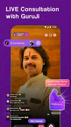 Guruji - Live Astrology, Horoscope, Kundli, Tarot apktram screenshots 1