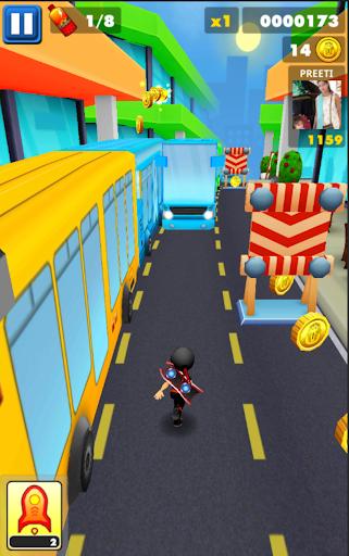 Subway Ninja Run:Surfer in the road 2.0 screenshots 1