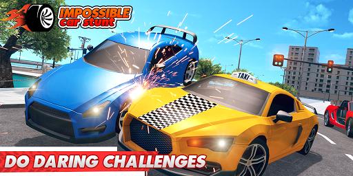 Impossible Car Stunts 3D - Car Stunt Races  screenshots 8