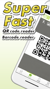 "QR / Barcode Scanner ""ICONIT"" Screenshot"