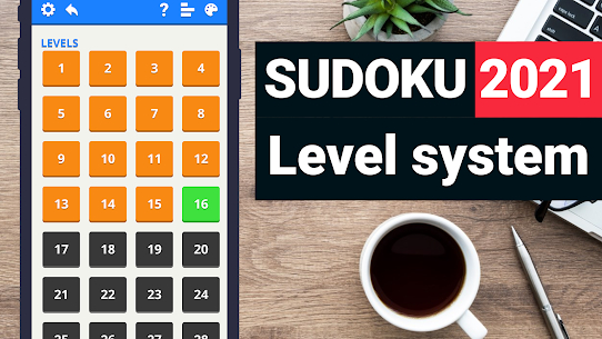 Sudoku Levels 2021 – free classic puzzle game 2