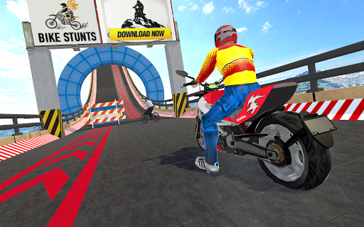 Impossible Stunts Bike Racing Games 2018: Sky Road 1.6 screenshots 3