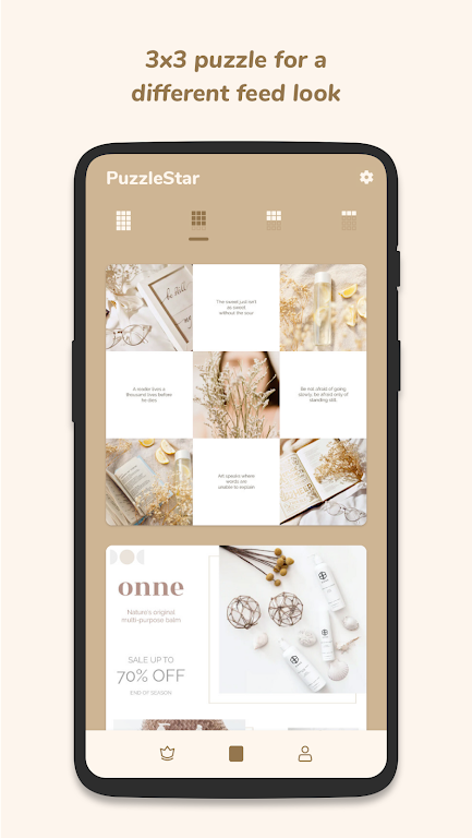 Puzzle Collage Template for Instagram - PuzzleStar  poster 1
