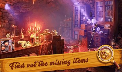hidden objects mystery  houses screenshot 1