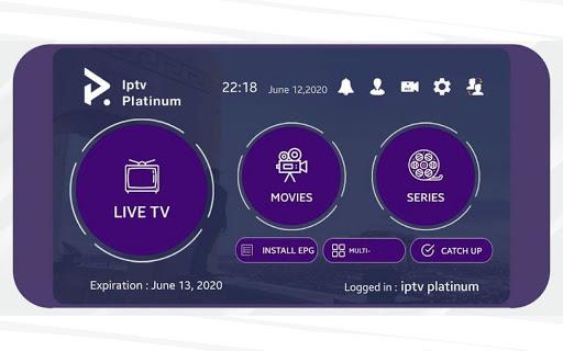 Foto do iptv Platinum Pro