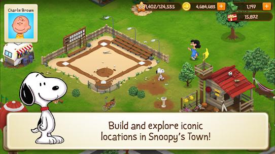 Snoopy's Town Tale – City Building Simulator Mod Apk (Unlimited Money) 1
