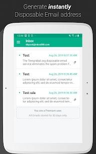 Temp Mail Free Instant Temporary v2.54.154 Mod APK 6