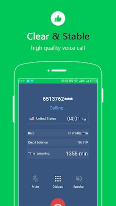 Free Calls - International Phone Calling Appのおすすめ画像2