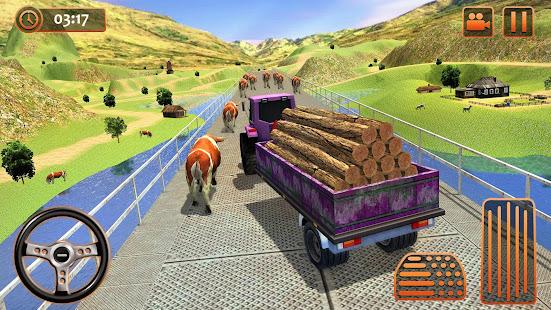 Farm Tractor Cargo Driving Simulator 20 screenshots 14