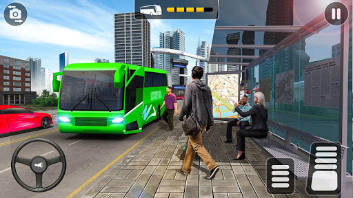 City Coach Bus Simulator 2021 - PvP Free Bus Games  screenshots 10