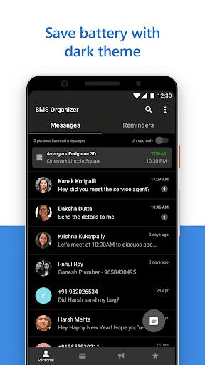 SMS Organizer 1.1.175 Screenshots 5
