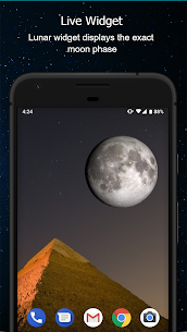 Phases of the Moon Calendar & Wallpaper Free 5