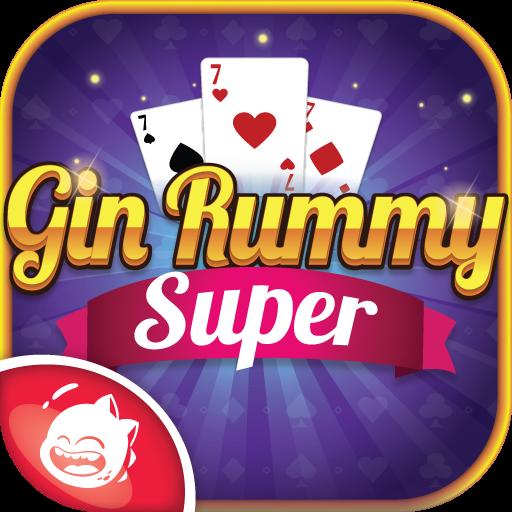 Gin Rummy Super: Main game kartu Gin Rummy daring