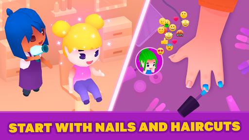 Idle Beauty Salon: Hair and nails parlor simulator  screenshots 2