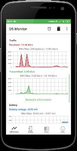 OS Monitor Mod Apk: Tasks Monitor (Premium/Paid Unlocked) 5