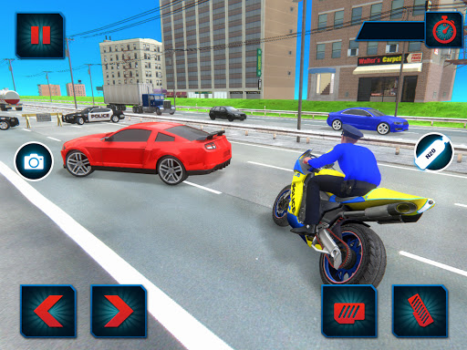 US Police Bike Gangster Crime - Bike Chase Game 3D 1.12 Screenshots 8