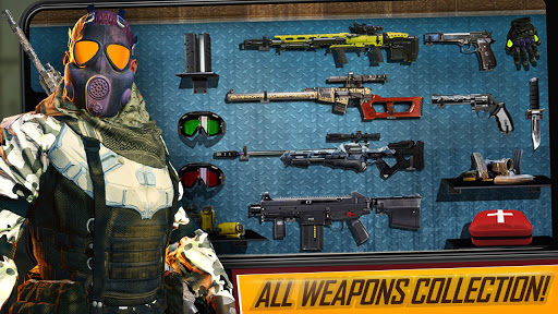 Free Fire Game 2021- FPS Shooting Game 1.9 screenshots 18