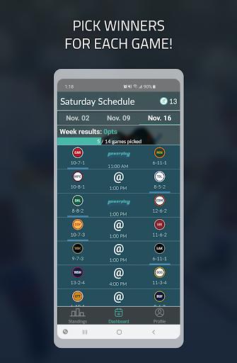 PowerPlay: NHL Hockey Pick'em 1.6.5 screenshots 1