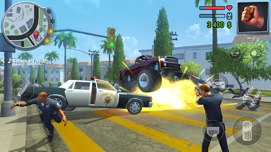 Gangs Town Story – action open-world shooter v0.15.1b (Mod – free shopping) 4
