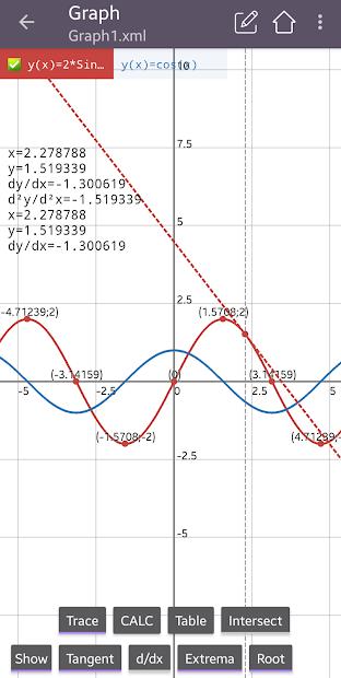 Captura 7 de Calculadora científica 82 es plus advanced 991 ex para android