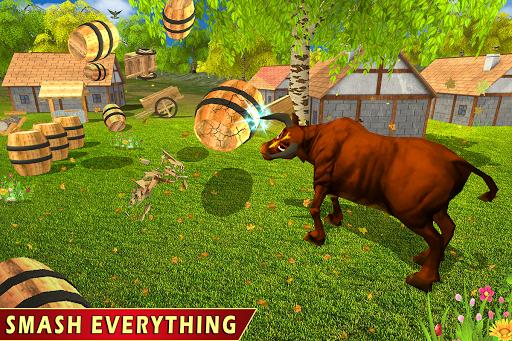 Wild Bull Family Survival Sim apkpoly screenshots 6