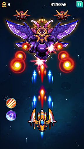 Galaxiga: Galaga Arcade Shooter 80s - Free Games 20.2 screenshots 20