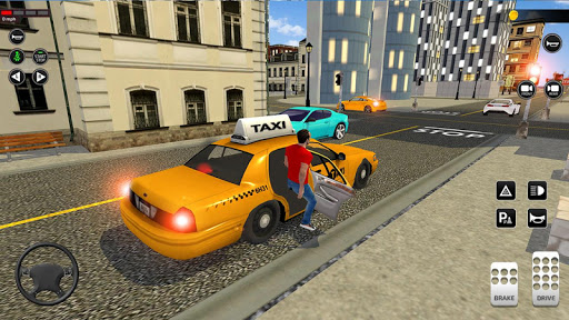 City Taxi Driving simulator: PVP Cab Games 2020 apktram screenshots 2