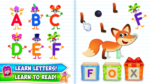 Baby ABC in box Kids alphabet games for toddlers  pic 1