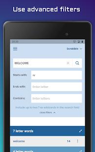 WordFinder: Unscramble words - solve anagrams