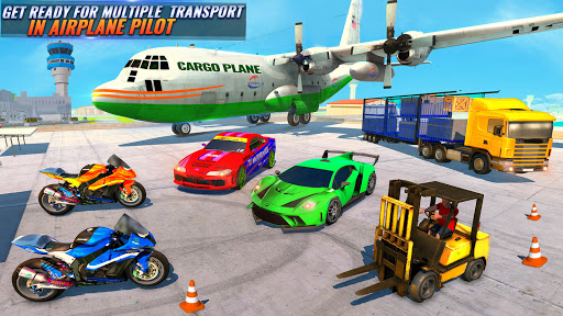 Airplane Pilot Car Transporter: Airplane Simulator  screenshots 5