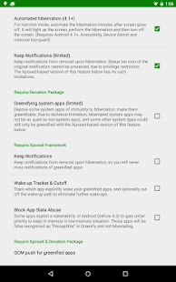 Greenify 4.7.5 APK screenshots 6