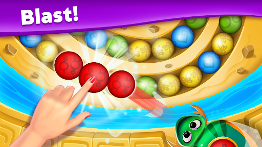 Violas Quest: Marble Blast Bubble Shooter Arcade 3.036.10 screenshots 17