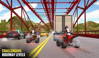 Cyber ATV Quad Bike Rider: Traffic Racing Games