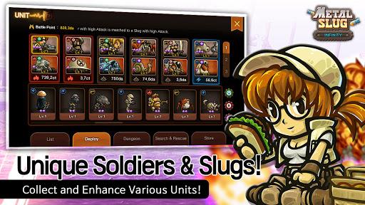 Metal Slug Infinity: Idle Game  screenshots 5