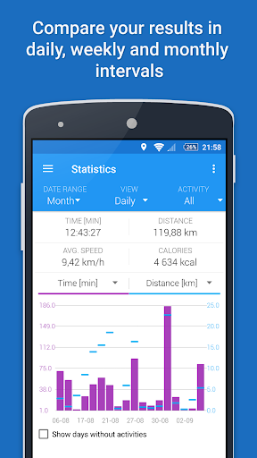 GPS Sports Tracker App: running, walking, cycling 2.9.3 Screenshots 4