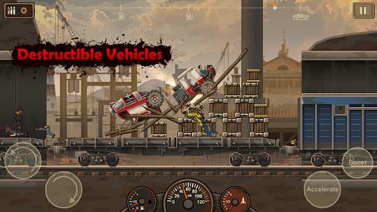 Earn to Die 2 APK MOD 1.4.33 (Free Shopping/Upgrade) 9