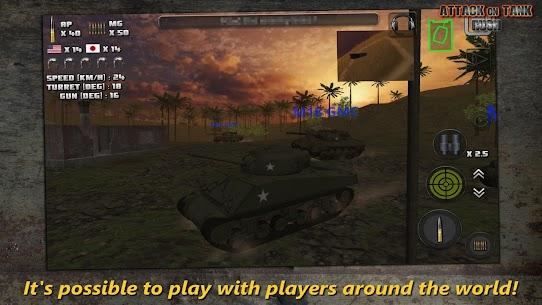 Attack on Tank: Rush v3.5.1 MOD (Money/Gold) APK 2