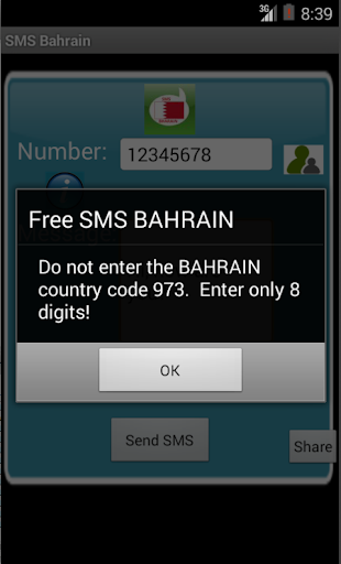 Free SMS Bahrain For PC Windows (7, 8, 10, 10X) & Mac Computer Image Number- 6