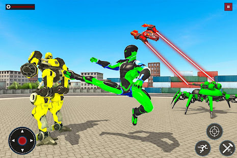 Flying Spider Rope Hero: Gangster Crime City 1.0 Screenshots 10