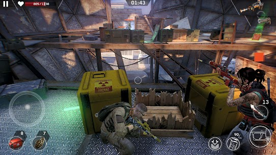 Download Left to Survive (MOD, Unlimited Ammo) for Android 8
