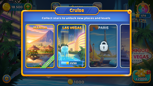 Solitaire Cruise Game: Classic Tripeaks Card Games apkpoly screenshots 4