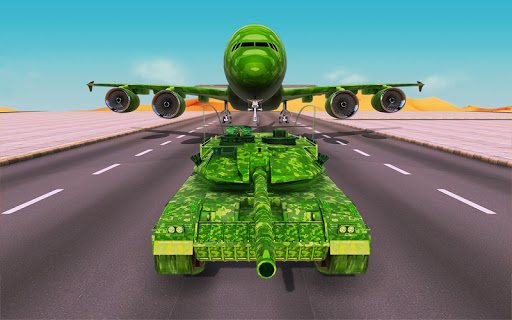 Off-Road Army Vehicle Transporter Truck  screenshots 5