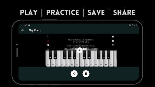 Play Piano: Melodies | Piano Notes | Keyboard  screenshots 6