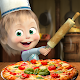 Masha and the Bear Pizzeria Game! Pizza Maker Game Apk