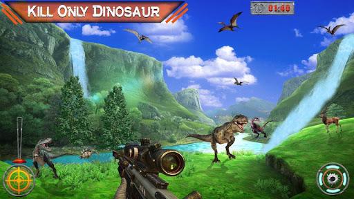 Dino Hunter 3D - Dinosaur Survival Games 2021 Apkfinish screenshots 6