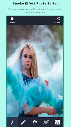 Smoke Effect Photo Editor - Smoke Effect Maker 2.0.0 Screenshots 1